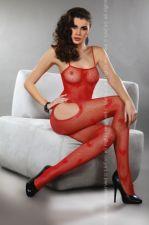 Katės kostiumas Titiana (raudonas) S/L