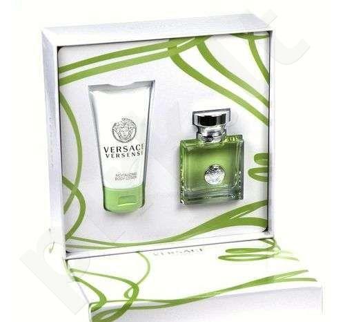 Versace (EDT 30 ml + 50 ml kūno losjonas) Versense, rinkinys moterims
