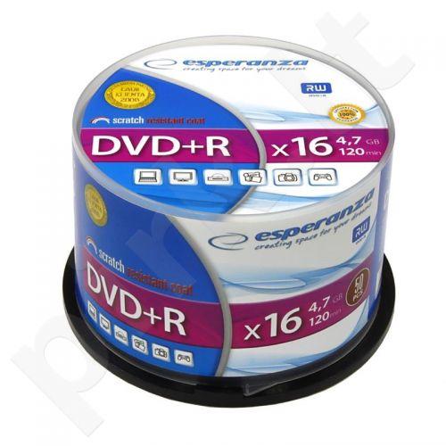 DVD+R ESPERANZA [ cake box 50 | 4.7GB | 16x ]