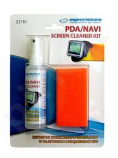 Rinkinys planšečių/ telefonų/ PDA / NAVI ekranų valymui Esperanza ES110