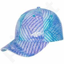 Kepurė  su snapeliu 4f W H4L17-CAD001A mėlynas mix