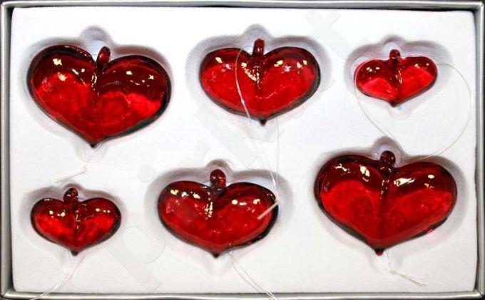 Stiklinė širdelė 76364