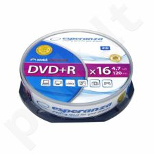 DVD+R ESPERANZA [ cake box 10 | 4.7GB | 16x ]
