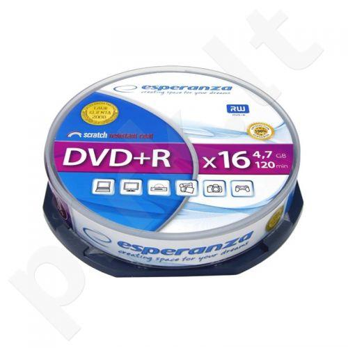 DVD+R ESPERANZA [ cake box 10 | 4.7GB | 16x ]
