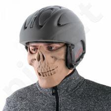 """Motociklininko kaukė """"Kaukolė"""" (dalinė)"""