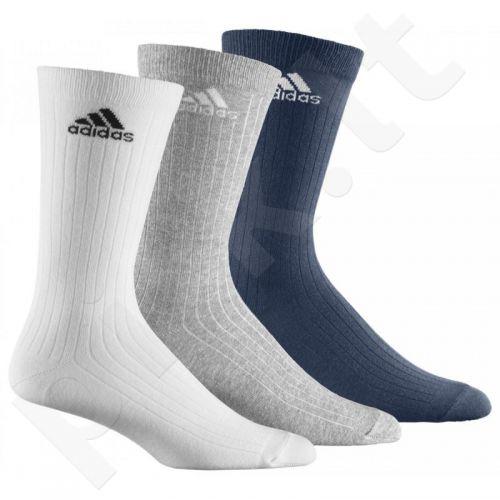 Kojinės Adidas CREW RIB T 3 poros Z25563