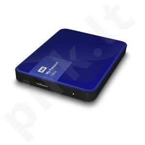 Išorinis diskas WD My Passport Ultra 2.5'' 1TB USB3 Mėlynas, Aparatinis šifr.