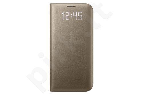 Samsung Galaxy S7 Edge Led View dėklas NG935PFE auksinis