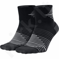 Kojinės bėgimui  Nike Performance Lightweight Quarter Sock 2pak SX5198-010