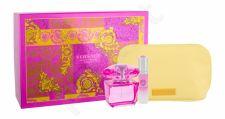 Versace Bright Crystal Absolu, rinkinys kvapusis vanduo moterims, (EDP 90 ml + EDP 10 ml + kosmetika krepšys)