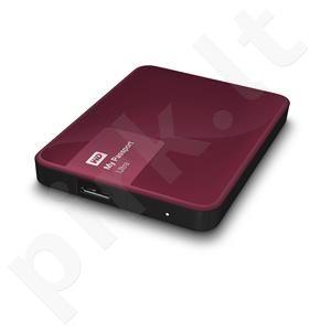 Išorinis diskas WD My Passport Ultra 2.5'' 1TB USB3 Bordinis, Aparatinis šifr.
