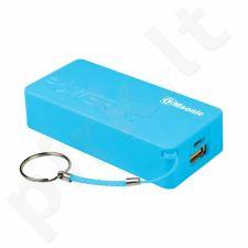 /10+1 free/   Nešiojamas įkroviklis Msonic power bank MY2580B, 5000mAh, Mėlynas