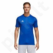 Marškinėliai futbolui adidas Core 18 Tee M CV3451