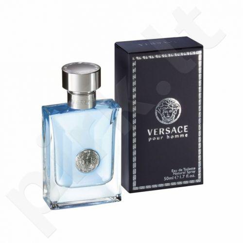 Versace Pour Homme, tualetinis vanduo (EDT) vyrams, 50 ml
