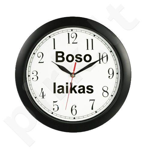 """Atgal einantis laikrodis """"Boso laikas"""" (mažesnis)"""