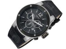 Esprit EL101281F01 Anteros Black vyriškas laikrodis-chronometras