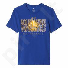 Marškinėliai Adidas Golden State Warriors Junior AX7748
