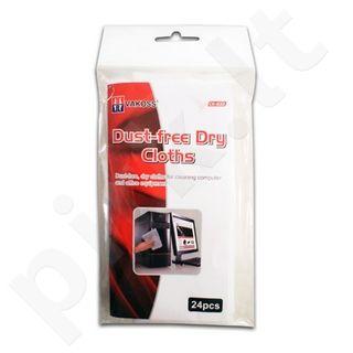 Valymo servetėlės Vakoss LCD/TFT ekranams 24vnt.