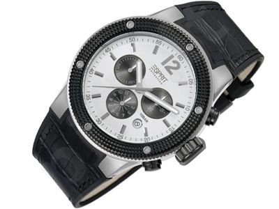 Esprit EL101281F02 Anteros Silver vyriškas laikrodis-chronometras