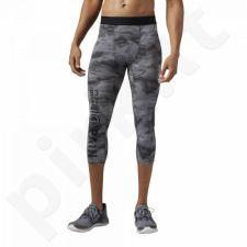 Sportinės kelnės kompresinės Reebok One Series Elite Quik Cotton 3/4 M AI1654