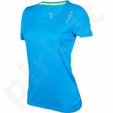 Marškinėliai bėgimui  Reebok Running Essentials Short Sleeve W AX9434