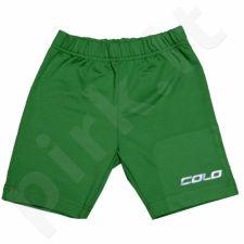 Apatiniai šortai COLO Under Junior žalia