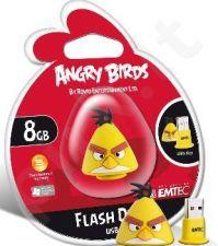 Atmintukas Emtec Angry Birds 8GB, Geltonas paukštis