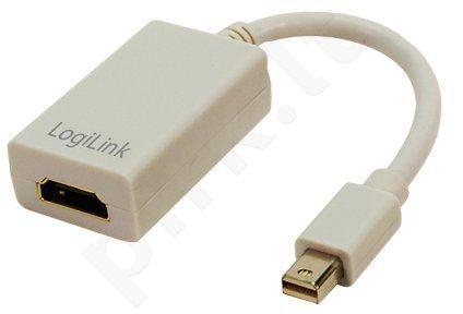 Adapteris LogiLink Mini DisplayPort --> HDMI su audio