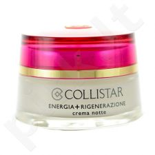 Collistar Energy+Regeneration naktinis kremas, kosmetika moterims, 50ml