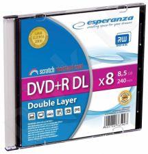 DVD+R Double Layer ESPERANZA [ Slim 1 | 8,5 GB | 8x ]