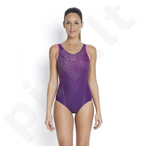 Maudymosi kostiumėlis Speedo Monogram Placement Muscleback W 8-09662A331