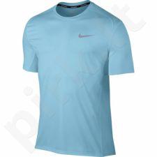 Marškinėliai bėgimui  Nike Dry Miler Top M 833591-432