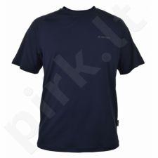 Marškinėliai bėgimui  Hi-TEC Viggo M tamsiai mėlyna