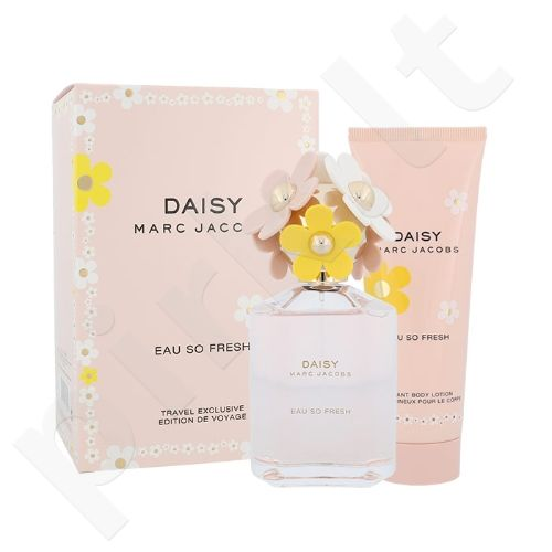 Marc Jacobs Daisy Eau So Fresh rinkinys moterims, (EDT 125ml + 75ml kūno losjonas)