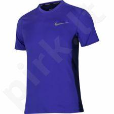 Marškinėliai bėgimui  Nike Dry Miler Top M 833591-452