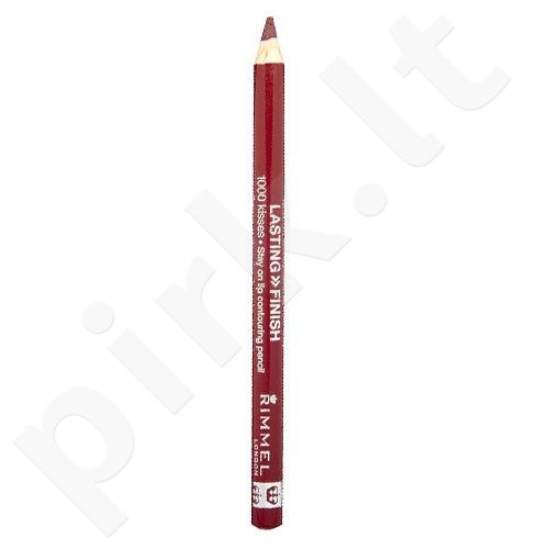 Rimmel London 1000 Kisses Stay On lūpų kontūrų pieštukas, 1,2g, kosmetika moterims  - 061 Wine
