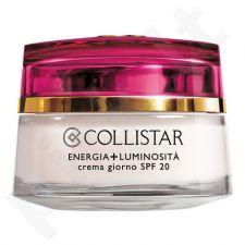 Collistar Energy + Brightness dieninis kremas SPF20, kosmetika moterims, 50ml