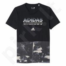 Marškinėliai Adidas Adi Allover Print Tee M AY7226