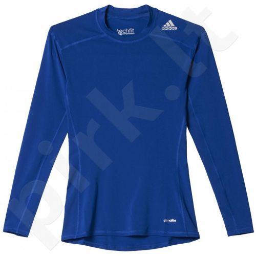 Marškinėliai treniruotėms Adidas Techfit Base Long Sleeve M AJ5018