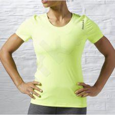 Marškinėliai bėgimui  Reebok Running Essentials Short Sleeve W AX9461