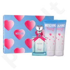 Moschino Funny rinkinys moterims, (EDT 50 ml + kūno želė 100 ml + dušo želė 100 ml)