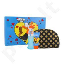 Moschino I Love Love rinkinys moterims, (EDT 50 ml + kūno losjonas 50 ml + kosmetikos krepšys)