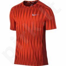 Marškinėliai bėgimui  Nike Dry Miler Top M 833598-674