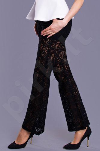 DROLE DE COPINE kelnės - juoda 8716-1