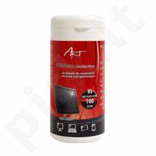 LCD/TFT ekranų valymo servetėlės XL ART AS-14 100vnt.