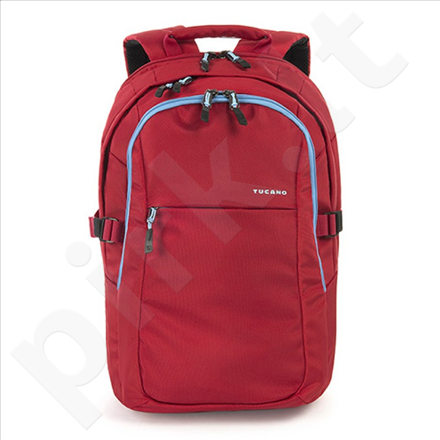 """Tucano LIVELLO Backpack for MacBook 15"""" and Notebook 15.6"""" + iPad and tablet (Red)"""
