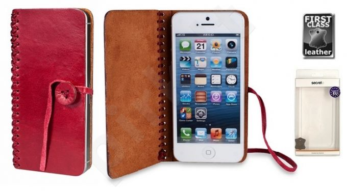 book HANDY universalus dėklas XL Sox ruby