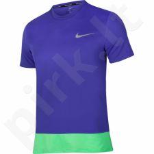 Marškinėliai bėgimui  Nike Breathe Rapid Top M 833608-452