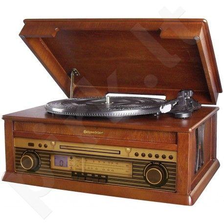 Retro stiliaus muzikinė sistema su patefonu Roadstar HIF-1799T