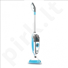 Dirt Devil DD301-0 Aqua Clean Steam Mop, Steamboost function, Integrated brush against stubborn dirt, Blue/White